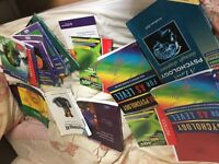 AS/A2 Biology and Psychology Textbooks