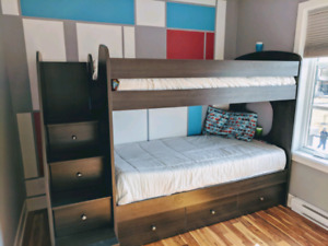 Lit d'enfants superposé / kids bunk bed