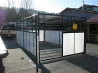 Heavy Duty Livestock Stall or Pen - 6 piece