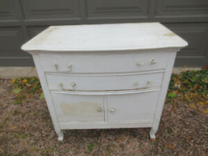 Lot of White Antique Furniture