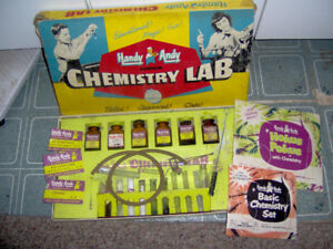 1955 Handy Andy Junior Chemistry Lab - Skilcraft