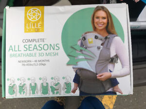Baby carrier Lille + upseat better posture + clothes different t