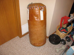 Leather Heavy Bag - Punching Bag