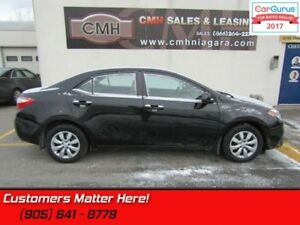 2014 Toyota Corolla LE  REAR CAMERA, HEATED SEATS, BLUETOOTH, PO