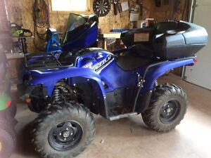 2014 Yamaha grizzly special edition