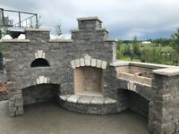 PIZZA OVENS- FIREPLACES- OUTDOOR KITCHENS- OTHER MASONRY WORK.