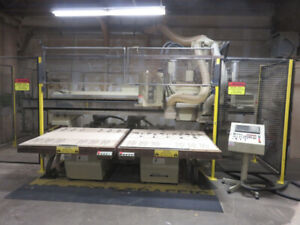 Anderson Twin Table CNC Router - Wood Working