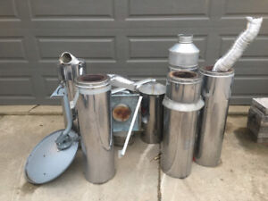 Stainless chimney parts