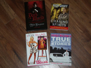 CELEBRITY BOOKS AND BOOKS ON THE PARANORMAL