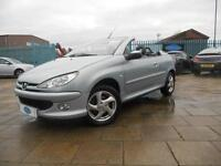 2004 PEUGEOT 206 CC ALLURE, LEATHER SEATS,1 FORMER KEEPER,FSH