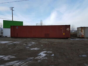 New Arrivals 4 45 FT HC Shipping Container, One sold 3 left.