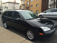 2007 Ford Focus SES familiale - Wagon - noir - black