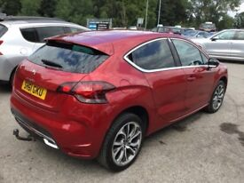 Citroen DS4 HDI DSTYLE (red) 2011