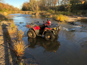 2008 Polaris 800 h o sportsman