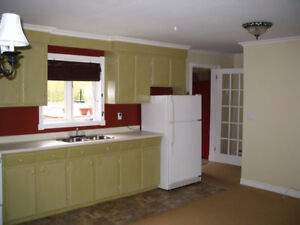 2 Bedroom above Ground Apartment for rent