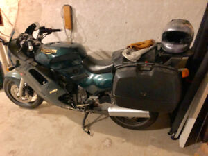 1995 Triumph Trophy 900 sport touring motorcycle