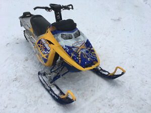 2007 Skidoo Summit XRS 151""