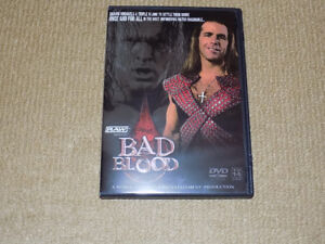 WWE BAD BLOOD DVD JUNE 2004 PPV HHH VS. MICHAELS HELL IN A CELL,