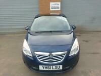 2011 Vauxhall Meriva 1.4i 16V SE 5dr MPV Petrol Manual