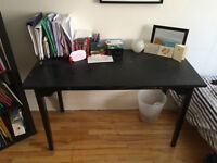 FOR SALE- Desk, bookshelf, twin size bed