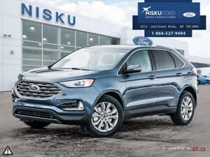 2019 Ford Edge Titanium AWD  - Leather Seats - Package