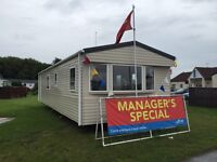 Static caravan for sale ocean edge holiday park Lancaster 12 month season 5*facilites