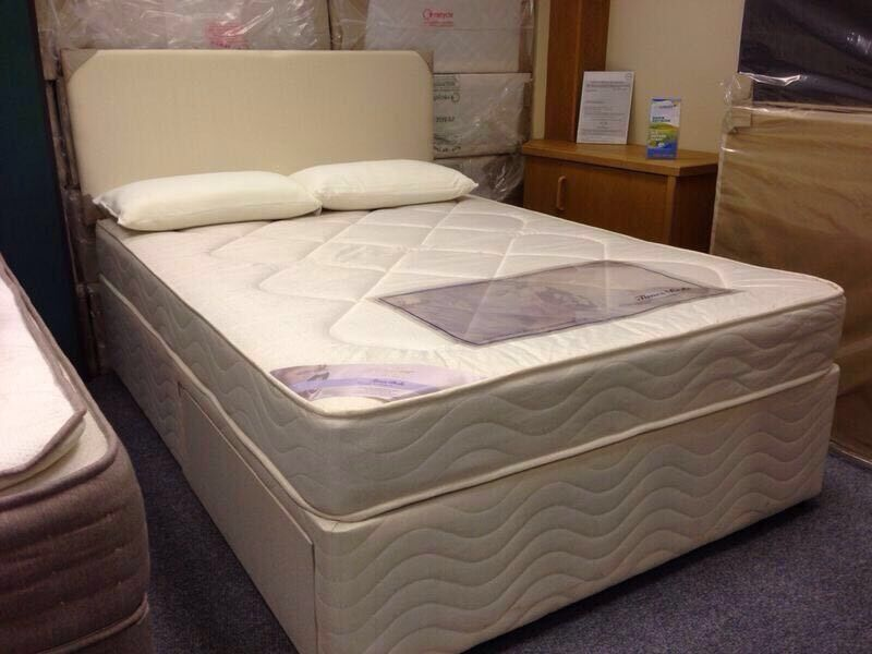 Brand new Double Bed, Complete with storage drawer.