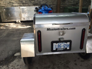 Mission Trailers Motorcycle Trailer $1299