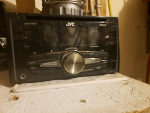 JVC  KW-R710 double-din in-dash cd/usb receiver / car stereo