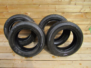 Set of 4 Dunlop SP Sport 5000 summer tires 195/65/15