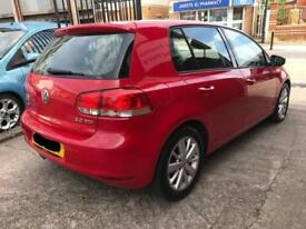Volkswagen Golf Match 2.0 Tdi 2012 - Long MOT - Red