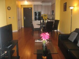 ***LUXURY furnished 2 bdrm condo in Square One for rent avail...