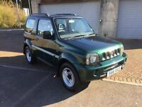 1999 Suzuki Jimny 1.3 JLX 4x4 Metallic Green Only 1 Family Owner 65k Miles