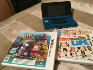 3ds with 2 games