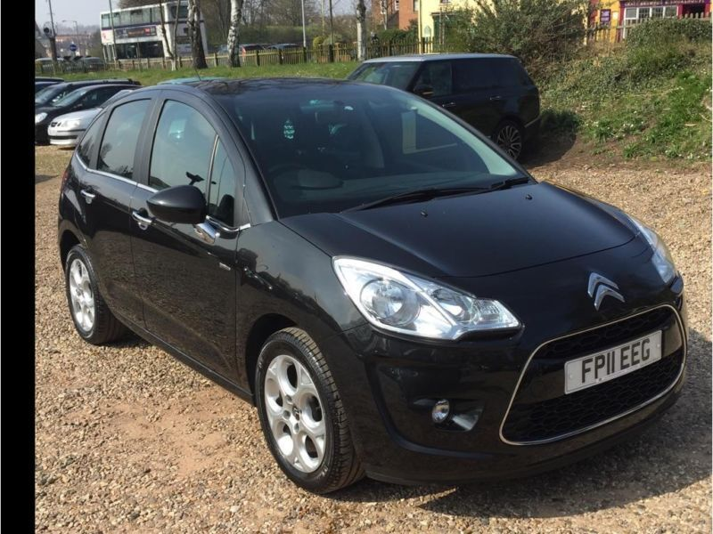 2011 citroen c3 1 6 hdi 16v exclusive 5dr in norwich norfolk gumtree. Black Bedroom Furniture Sets. Home Design Ideas