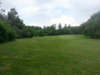 1 acre backyard for rent by tews and Webster falls- Hamilton