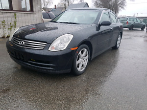 2004 Infiniti G35x Safety and E-Tested