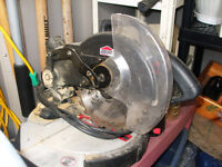 Jobmate Miter Saw 7 1/4-in with an extra new blade.