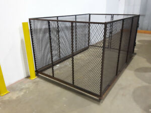 Mesh Cages for Pick Ups