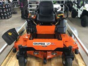 "Columbia Commercial V-Twin 25HP Engine, 60"" deck"