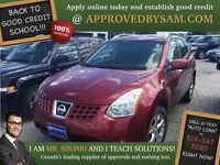 """Nissan Rogue - BAD CREDIT - TEXT """"AUTO LOAN"""" TO 519 567 3020"""