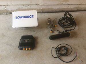 Lowrance HDS 12 Gen 3 with 3D sounder module and Navionics+