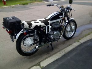 Two classic British motorcycles for sale