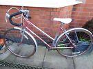 Vintage British Marlboro 5 Speed Mixte Road Bike Size L