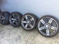 """BMW 18"""" alloys"""