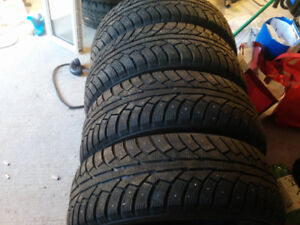 4.    205/65/15 winter tires in excellent condition