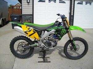 2010 Monster Energy Kawasaki 450f