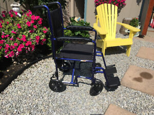 Light Weight Wheel Chair: Excellent Condition