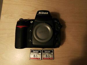 Nikon D700+grip+2 cartes+2 batteries West Island Greater Montréal image 3