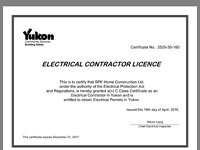 Red seal Journeyman electrician